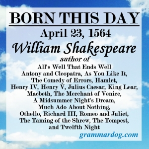 4-23 William Shakespeare