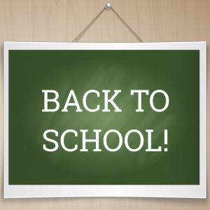 Blog 22 Back to School