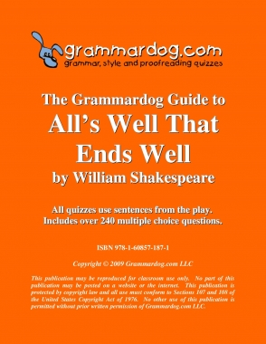 All's Well That Ends Well by William Shakespeare 2