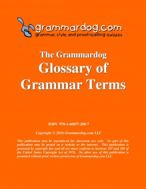 Glossary of Grammar Terms 2