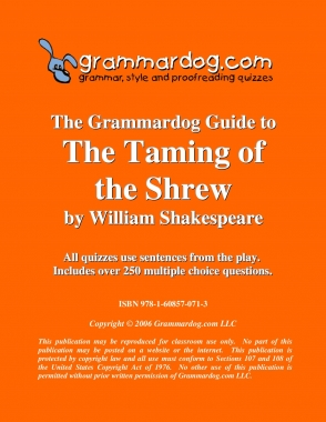 The Taming of the Shrew by William Shakespeare 2
