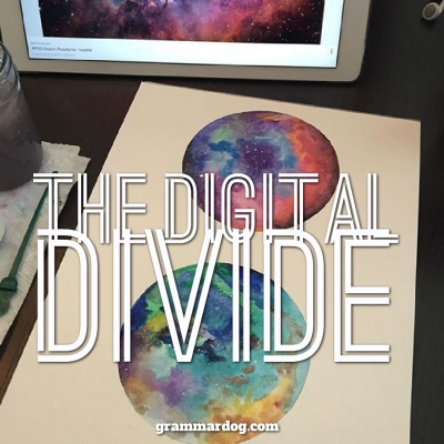 digital divide Melissa Harrell