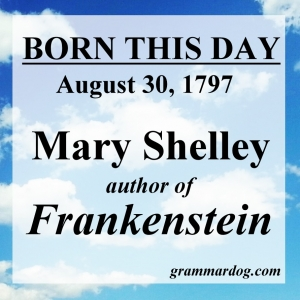 8-30 Mary Shelley