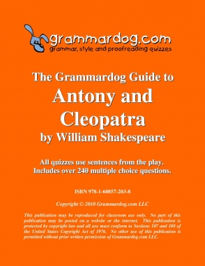 Antony and Cleopatra by William Shakespeare 2