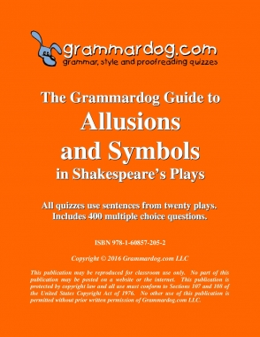 Allusions and Symbols in Shakespeare's Plays 2