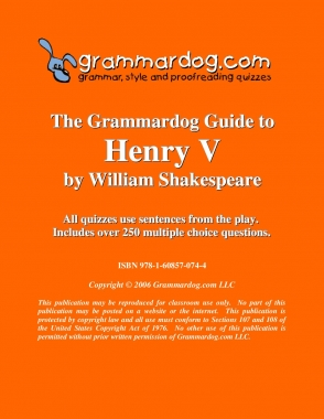 Henry V by William Shakespeare 2